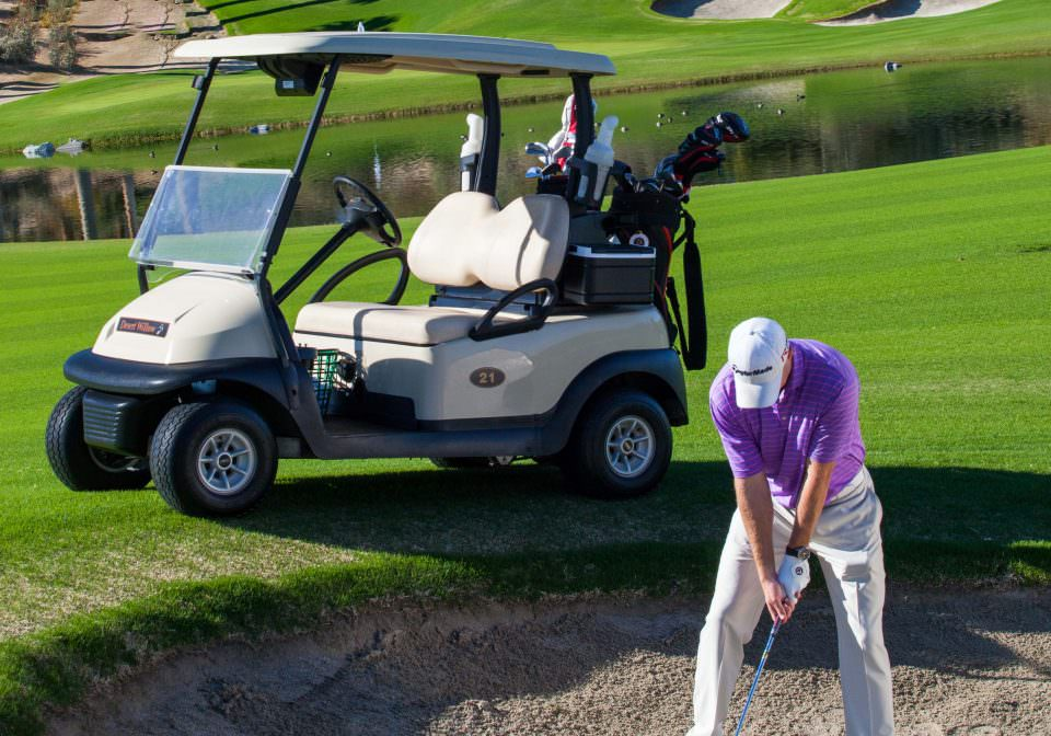 Club Car Golf Buggy Hire