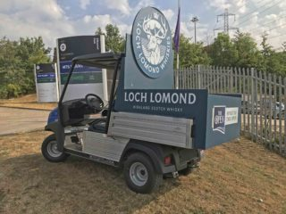 Branded Event Buggy hire