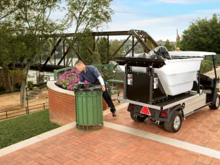 Carryall 700 waste pickup