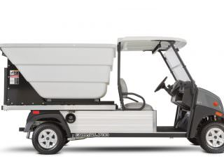 Electric waste pick up buggy