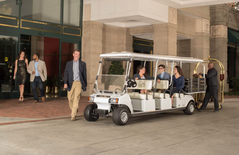 Eight Seater Golf Cart