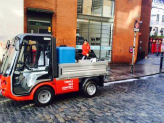 Elcectric Pressure Washer Utility Vehicle