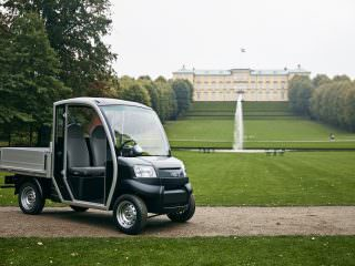 Electric Groundskeeping utility vehicle