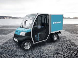 Electric Last Mile Delivery vehicle