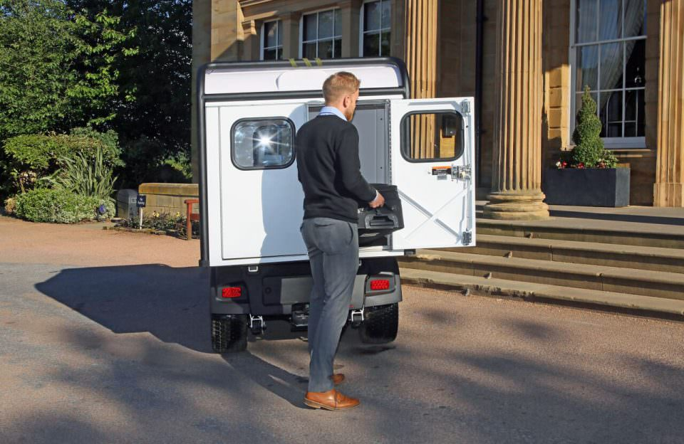 Electric Utility Vehicle Van Box