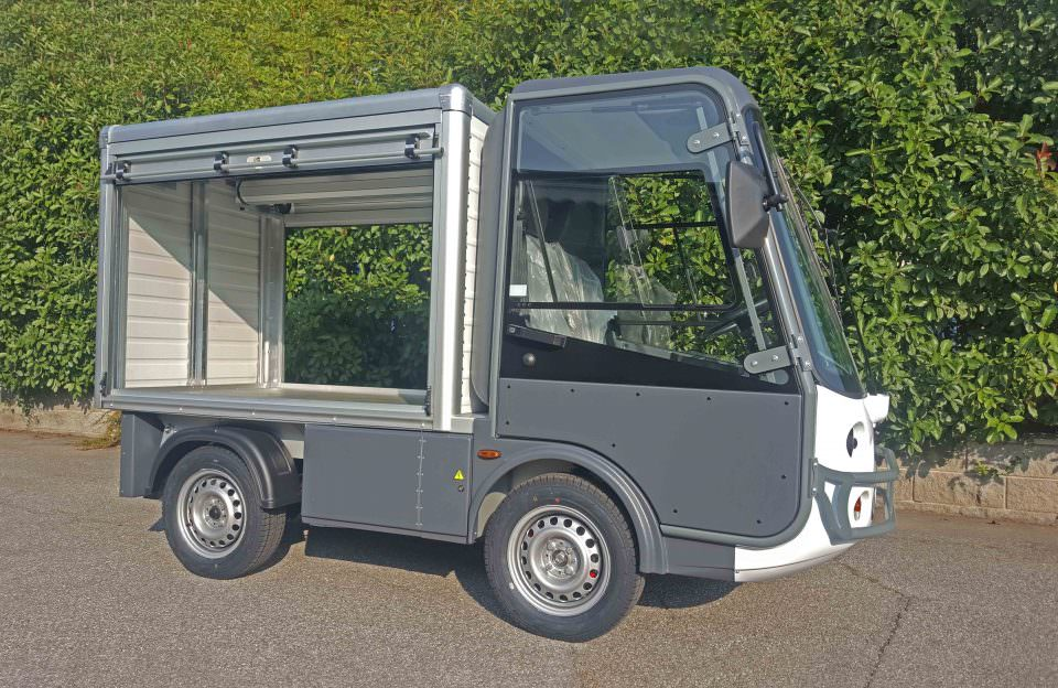 Electric Van UK Road Legal
