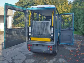 Electric WAV Wheel Chair Vehicle