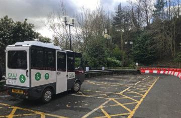 Electric Wheelchair Bus Durham Station