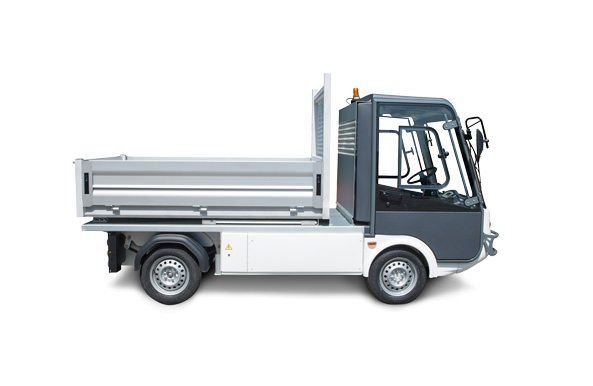 Esagono electric pick up or electric utility van