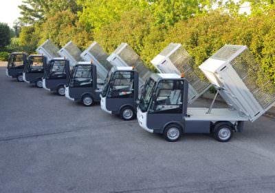 Esagono Energia electric pick up vehicle