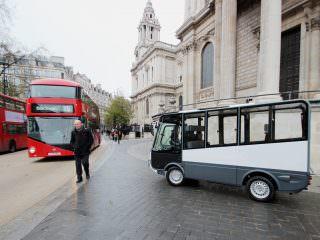 Esagono Geco Electric Shuttle Bus