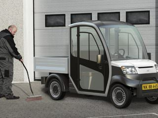 Garia City Electric Utility Buggy