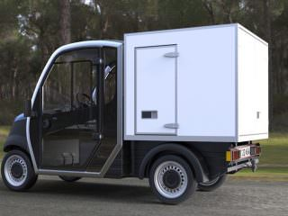 Garia City Utility Vehicle Van Box Lease