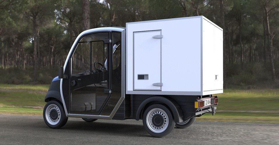 Garia Housekeeping Vehicle
