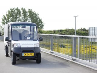 Garia City EC Utility Vehicle