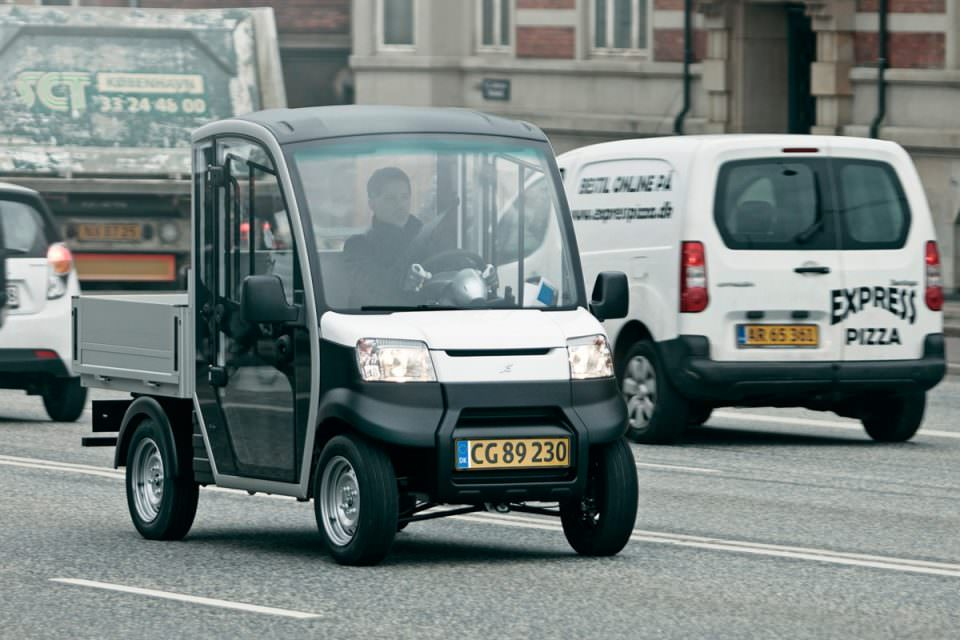 Garia Utility Street Legal Electric Vehicle
