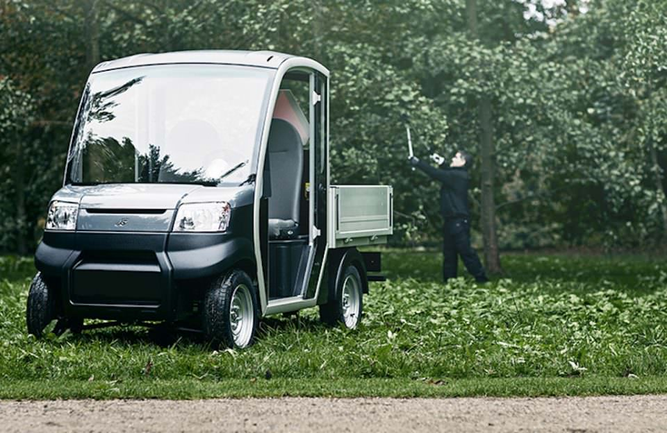 Garia electric utility vehicle for sale UK
