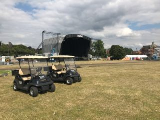 Golf Buggy Festival Hire