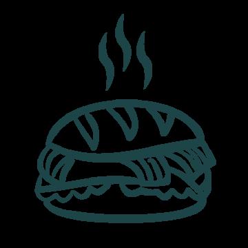 Hot food buggy 10x10