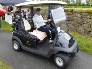 Lee Westwood Golf Buggie
