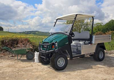 an off road utility vehicle by Club Car