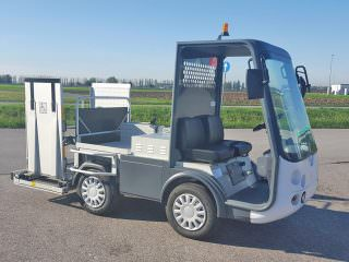 Rail mobility electric vehicle