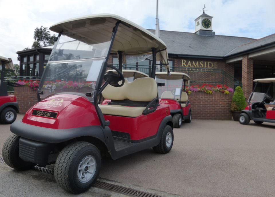 Ramside Hall Golf Buggy