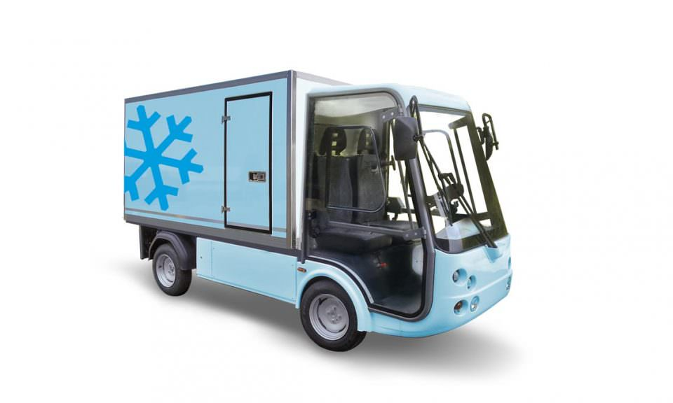 Refrigerated City Van Electric