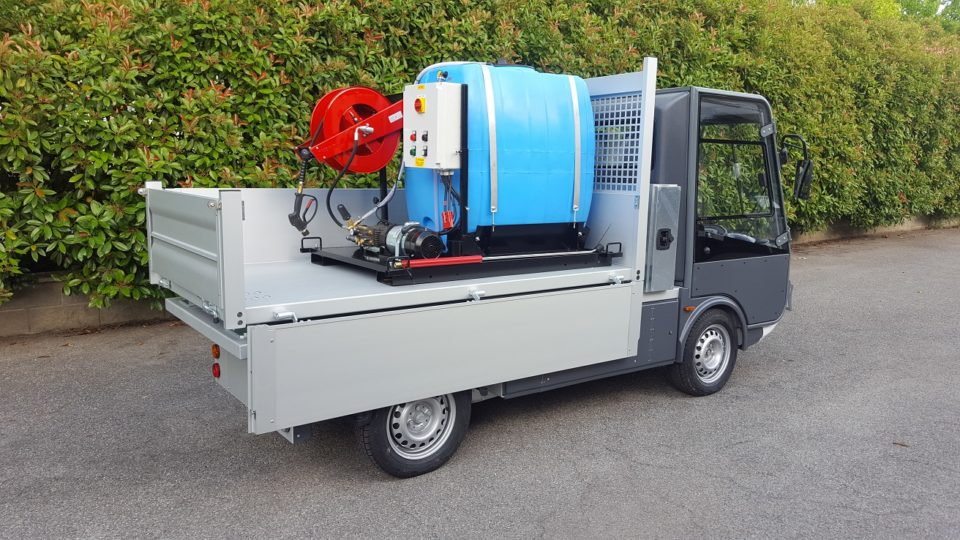 Street legal N1 electric truck
