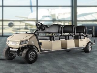 Club Car Villager 8 in Airport