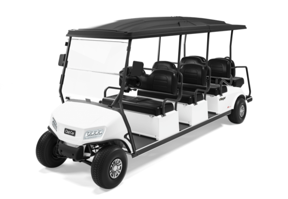 Club Car Villager 8 White