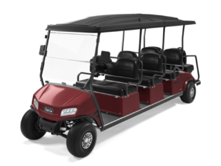 Club Car Villager 8 Burgundy