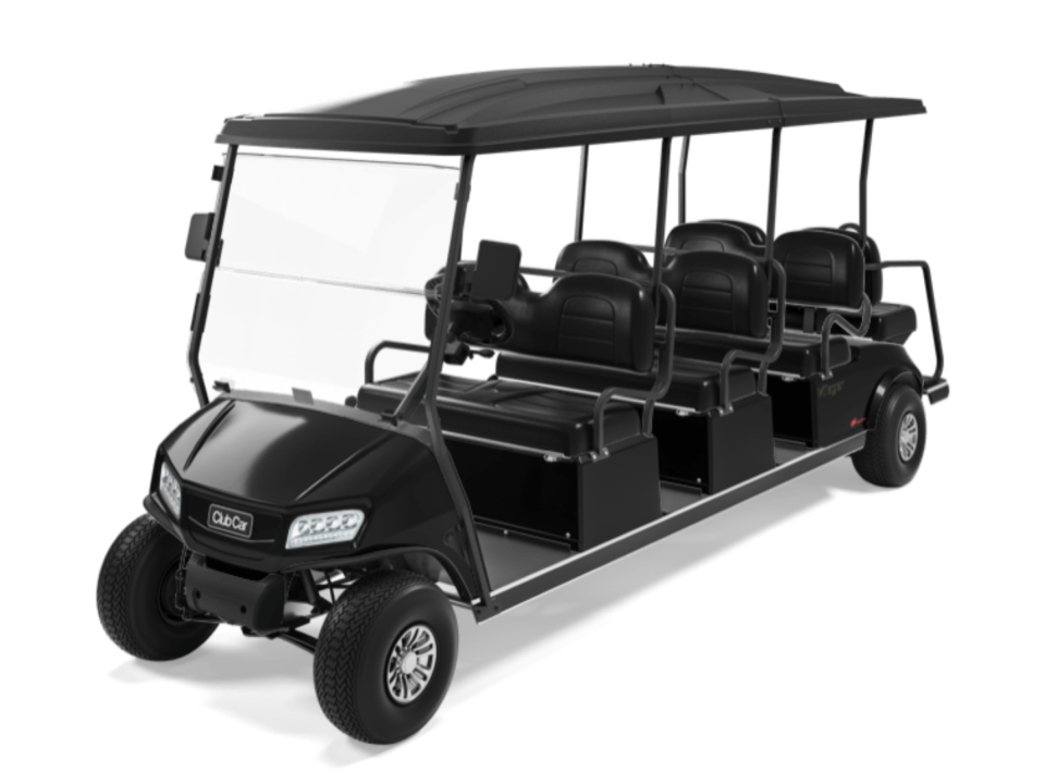 Club Car Villager 8 Black