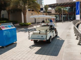 Six seater golf buggy hire
