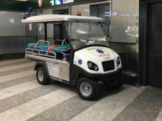 Airport Medical Buggy 1